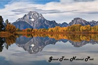 Oxbow Fall Postcard